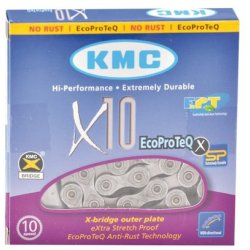 KMC Ketting 11 128 X10 Ept Anti Roest 10 speed