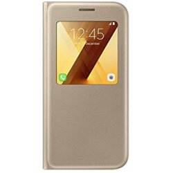 Samsung Galaxy A5 2017 S view Cover Goud