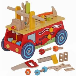 Playwood Loopauto werkbank