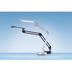 Hansa bureaulamp 4 Stars LED lamp zilver