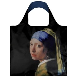 LOQI Shopper Johannes Vermeer Girl With The Pearl Earring
