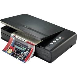 Plustek OpticBook 4800 1200 x 1200 DPI Flatbed scanner Zwart A4