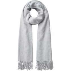 Pieces Jira Sjaal Light Grey ONE SIZE