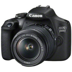 Canon EOS 2000D Kit with 18 135mm f 3.5 5.6 IS STM Lens Digital...