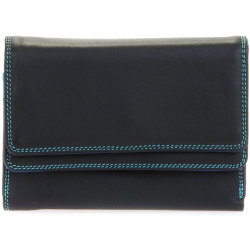 Mywalit Double Flap Purse Portemonnee Black Pace