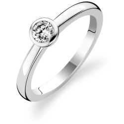 TI SENTO Milano Ring 1868ZI Maat 52 (16 5 mm) Gerhodineerd Sterling Zilver
