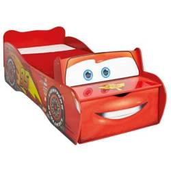 Cars Bed Rood 77x170cm