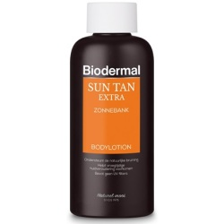 Biodermal Sun Tan Extra Zonnebank bodylotion 200ml