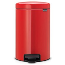 Brabantia newIcon pedaalemmer 12 l Passion Red