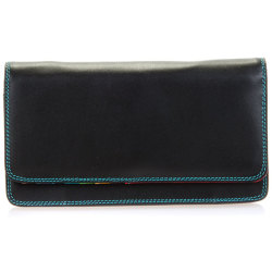 Mywalit Medium Matinee Purse Wallet damesportemonnee Black Pace