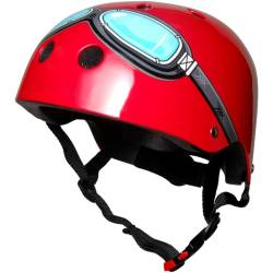 Kinder Fietshelm Red Goggle Small (48 53 cm)