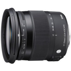 Sigma 17 70mm f 2.8 4.0 DC OS HSM Macro Contemporary Canon EF S mount objectief