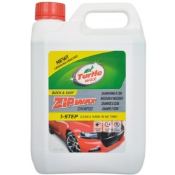 Turtle Wax 52882 Zip Wax shampoo 2 5 L