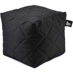 Extreme lounging B Box Quilted Poef Zwart