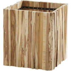 Miguel plantenbak 45x45xH50 cm teak 4 Seasons Outdoor