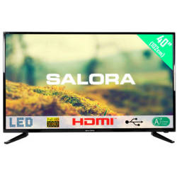 Salora 40LED1500 LCD LED TV USB Mediaspeler 102cm