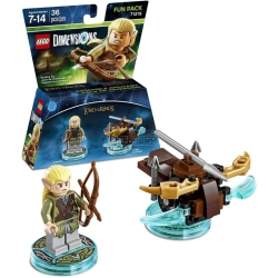 Lego Dimensions Fun Pack Lord of the Rings Legolas