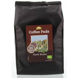 Bio Cafe Koffiepads Dark Roast