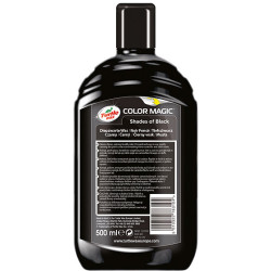 Turtle Wax Color Magic Wax Jet Zwart