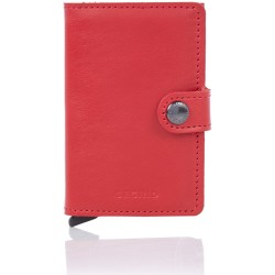 Secrid Mini Wallet Portemonnee Original Red Red