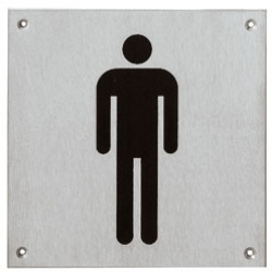 Pictogram herentoilet groot