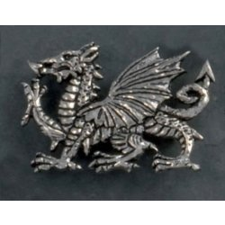 Welsh Dragon Broche