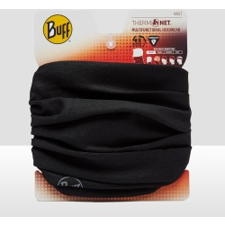 Buff Nekwarmer Thermonet Solid Black Unisex Maat One Size