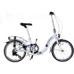Popal Subway F201 Vouwfiets 20 inch Wit