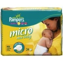 Pampers New Baby Micro (24st)