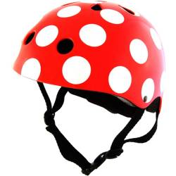 Kinder Fietshelm Red Dotty Small (48 53 cm)