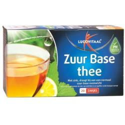 Lucovitaal Zuurbase Thee (20st)