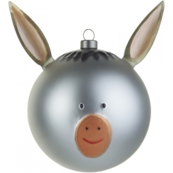 ALESSI Le Palle Presepe Kerstbal Asinello