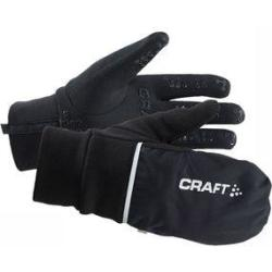 Craft Hybrid Weather Glove Fietshandschoenen Maat XL Black Zwart