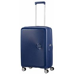 American Tourister Soundbox Spinner 67 Expandable Midnight Navy