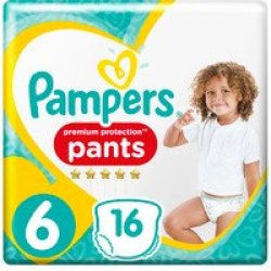 Pampers Premium Protection Pants Maat 6 (16st)