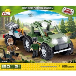 Cobi 150 Pcs Small Army 2363 Border Patrol Buggy