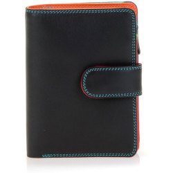 Mywalit Medium Snap Wallet Portemonnee Black Pace