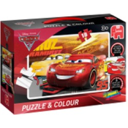 Cars 3 Puzzle Colour