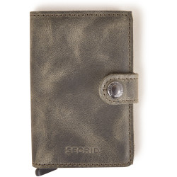 Secrid Mini Wallet Portemonnee Vintage Olive Black