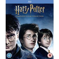 Harry Potter Complete Collection (Blu ray) (Import)